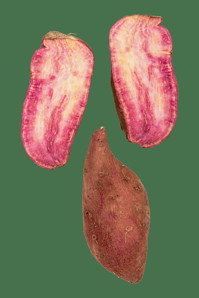 Lilla sød kartoffel