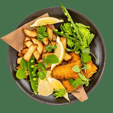 Ekstra Måltid – Fast Food til 4 personer
