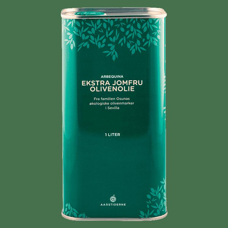 Arbequina-olivenolie