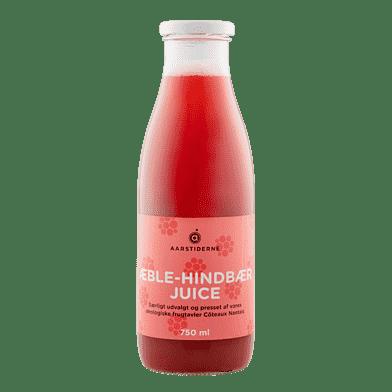 Æble-hindbærjuice