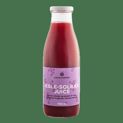 Æble-solbærjuice