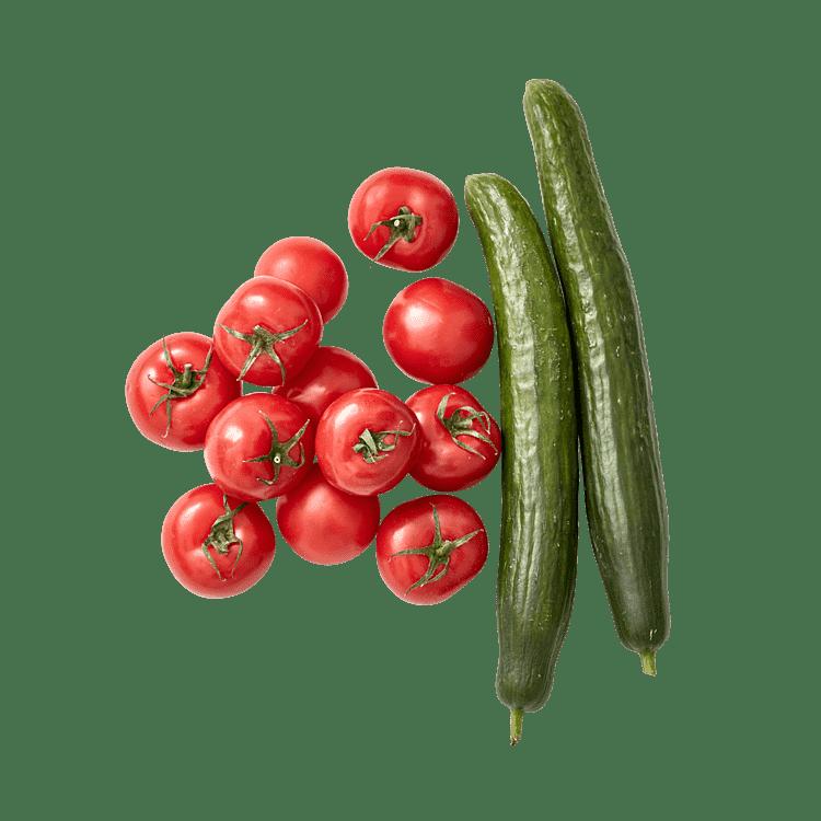 Agurke- og TomatPosen