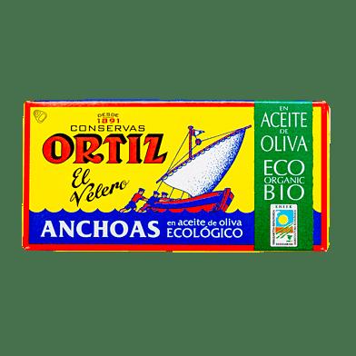 Ansjoser i olivenolie