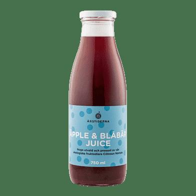 Äpple Blåbärsjuice