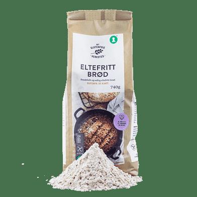 Bagemix til glutenfrit æltefrit brød