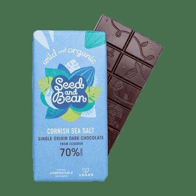Mørk chokolade med havsalt