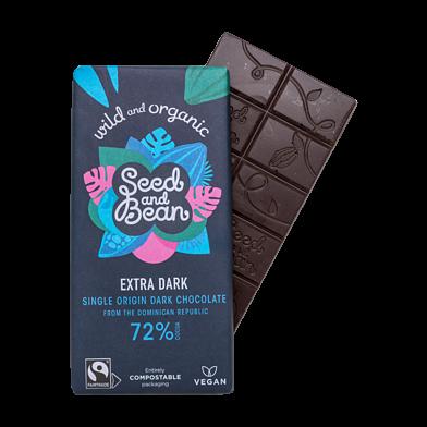 Mørk chokolade, 72 %