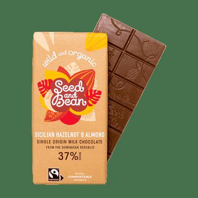 Mælkechokolade – Hasselnødder/mandler