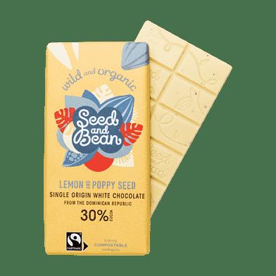 Hvid chokolade – Citron/birkes