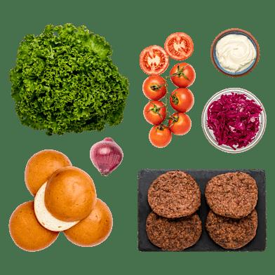 Den Vegetariske BurgerKasse