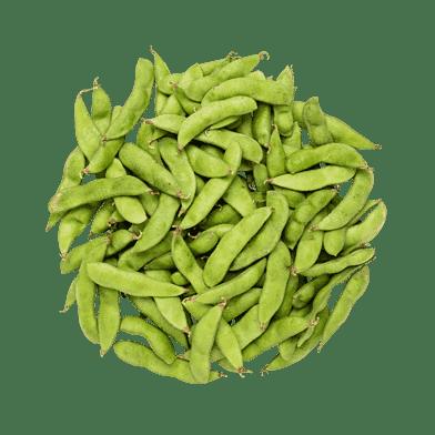 Friske edamamebønner