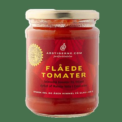 Skållade tomater