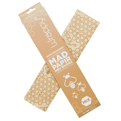 Wrappy madpapir, mixpakke