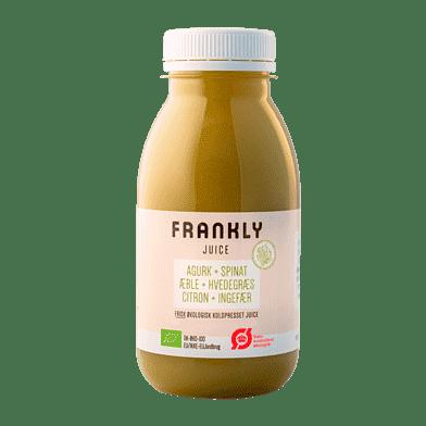 Frankly juice m. agurk og spinat