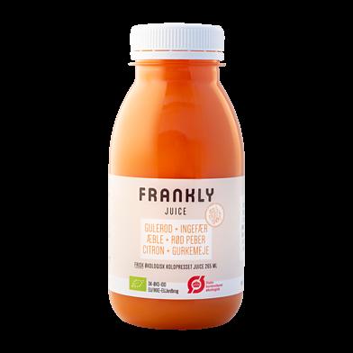Frankly juice m. gulerod og gurkemeje