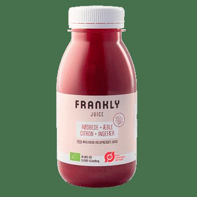 Frankly juice m. rødbede og æble