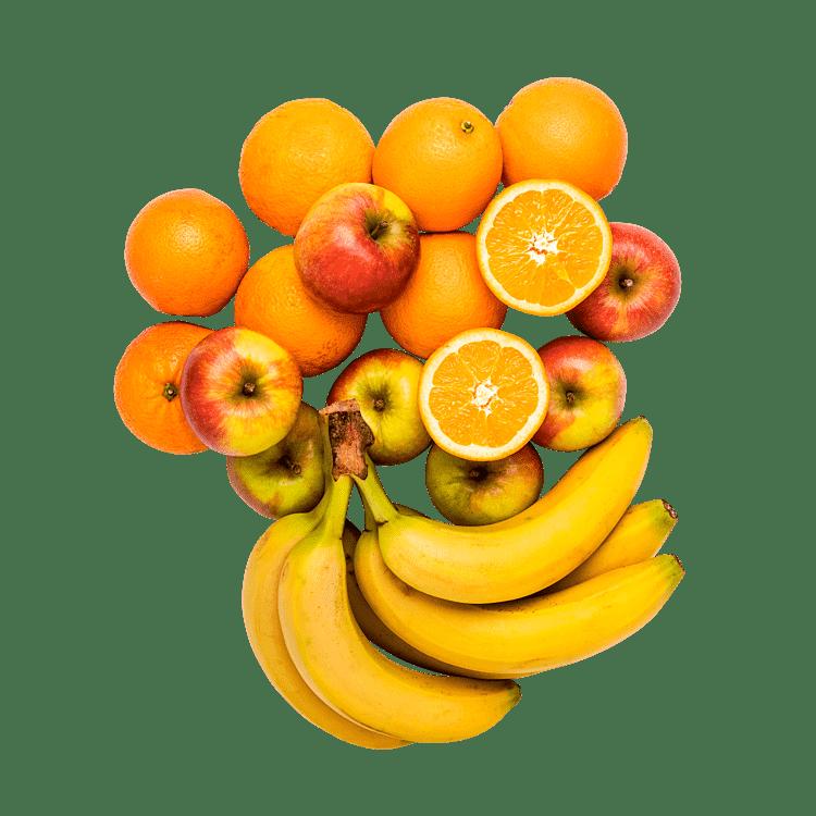 Frugt til 3 personer
