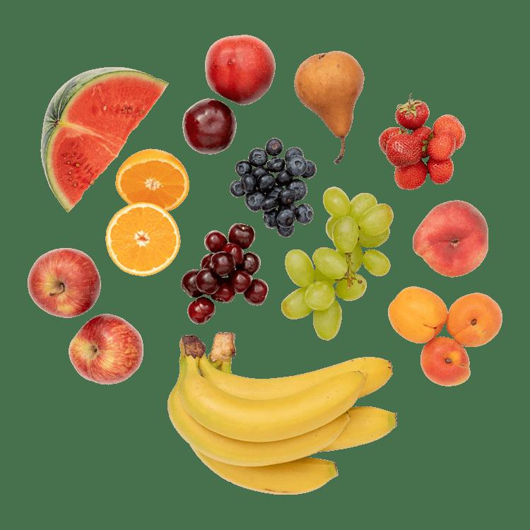 Frugt til 4-5 personer