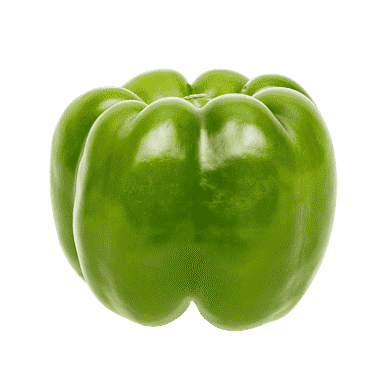 Grøn peberfrugt