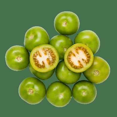 Gröna tomatlådan