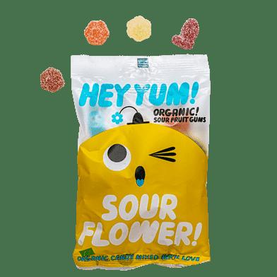 Sour Flower Vingummi