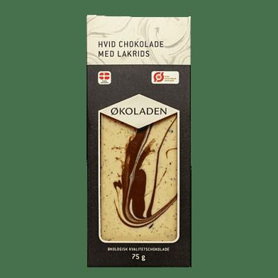 Hvid chokolade – Lakrids