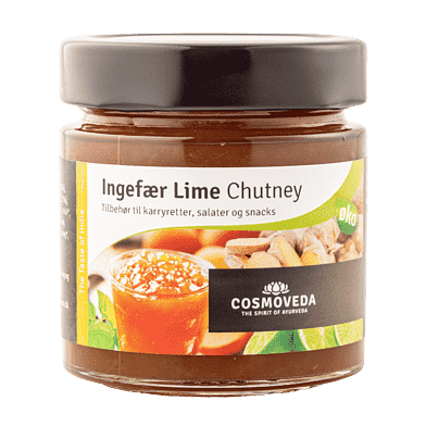 Ingefær-lime chutney
