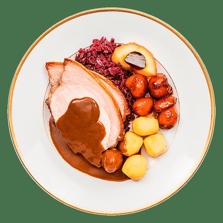 Julemåltid – Flæskesteg