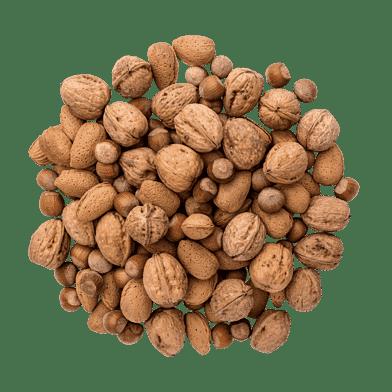 Nødder med skal