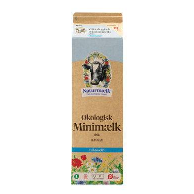 Laktosefri minimælk