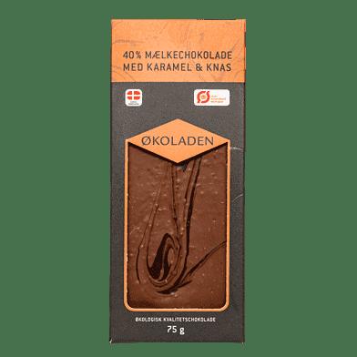 Mælkechokolade – Karamel/knas