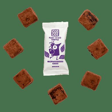 Madpakkebidder med kakao