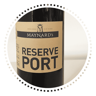 Maynard's Ruby Port