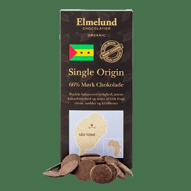 Mørk chokolade, 66 %