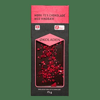 Mørk chokolade – Hindbær