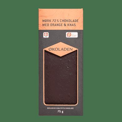 Mørk chokolade – Orange/knas