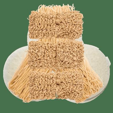Nudler og rispapir