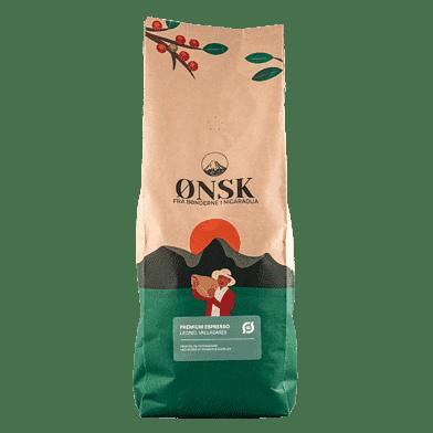 ØNSK Kaffebønner Mørkristet