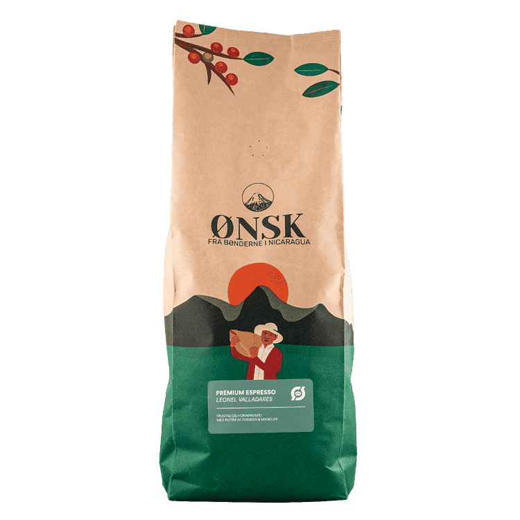 ØNSK Kaffebönor Espresso 1 kg