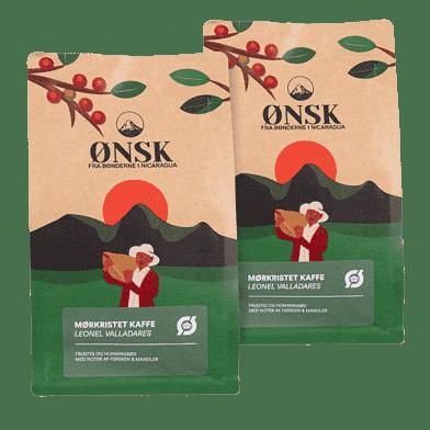 ØNSK Kaffebönor Espresso 2 x 250 g
