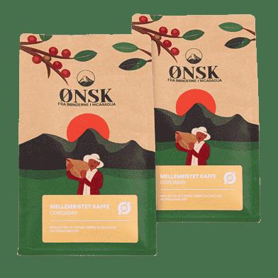 ØNSK Kaffebønner Mellemristet