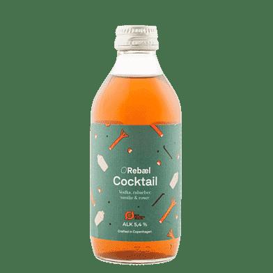 Rebæl Cocktail – Vodka/rabarber/vanilje