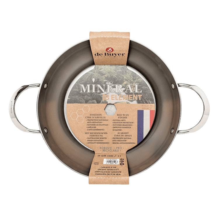 De Buyer Mineral B sauterpande