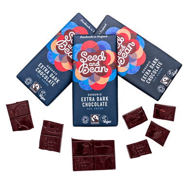 Seed and Bean Chokolade Mørk