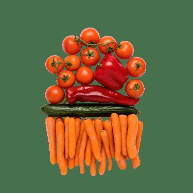 Snacksgrönt till 1-2 personer