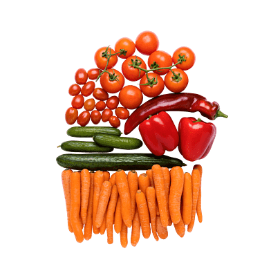 Snacksgrönt till 3 personer