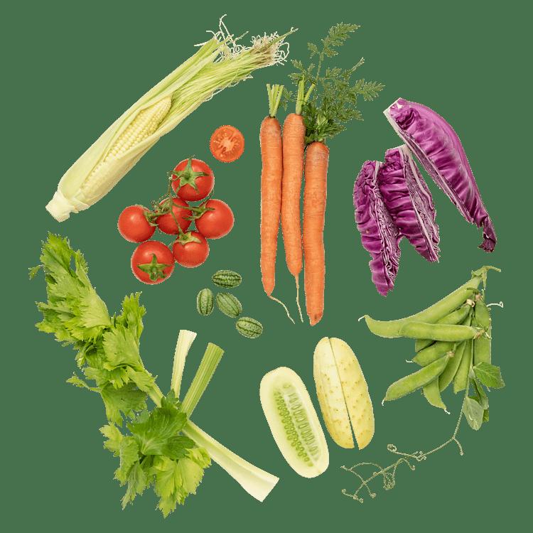 Snacksgrönt till 4-5 personer