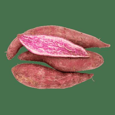 Violette søde kartofler