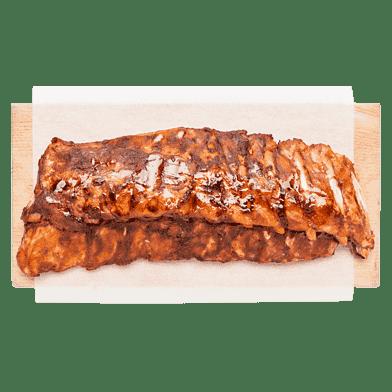 Spareribs, barbecue