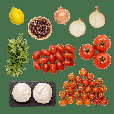 Tomatsallad med burrata